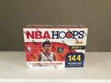 2020-21 Panini NBA Hoops MEGA Box In Hand LaMello Ball