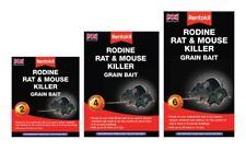 Rentokil Rodine Souris & Rat Killer Poison Blé Grain 2, 4 6 Sachets