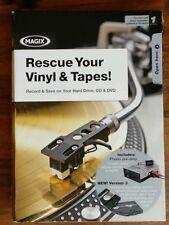 Mp3 Codificatore salvare i record CASSETTE CD LP in vinile WMA USB MAGIX VINILE BACKUP PC