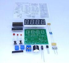New C51 4 Bits Digital Electronic Clock Electronic Production Suite DIY Kits