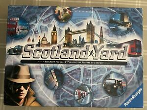 Ravensburger Scotland Yard Board Game - 26646 100% Complete , Great Condition