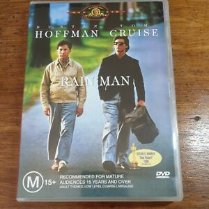 Rain Man DVD R4 LIKE NEW FREE POST