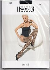 Collant WOLFORD LYNNE coloris Black/Black. Taille M. Tights.