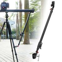 Aluminium Adjustable Camera Video Slider Support Tripod Rod For Universal Tripod