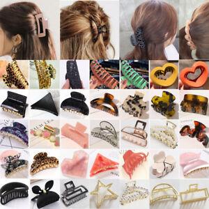 Damen Elegant Haar Klaue Haarklammer Clip Schmuck Acryl Klemme Haarnadel Mode