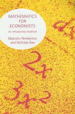 Mathematics for Economists by Manchester University Press (Paperback, 2001)