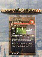 Axis & Allies War At Sea - Eugenio Di Savoia