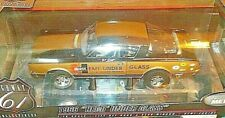 "1/18 HIGHWAY 61 HURST 1966 ""HEMI UNDER GLASS"" BARRACUDA"