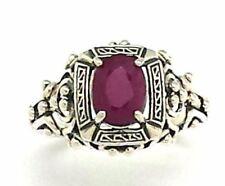 Anelli di lusso con gemme ovali rubino