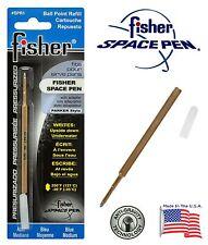 One Fisher SPR Series Blue Ink / Medium Point Refill #SPR1
