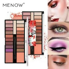 MENOW 18 Colors Eyeshadow Palette Makeup Tools Glitter Professional Eye Palette
