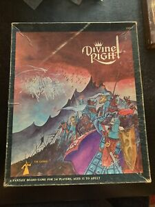 TSR 1979 - DIVINE RIGHT Vintage Board Game - - RARE
