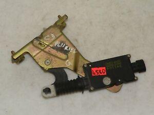 CITROEN C3 PLURIEL 2003 LHD REAR TAILGATE BOOT LID LOCK MECHANISM 9646044780