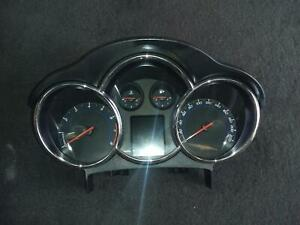 HOLDEN CRUZE INSTRUMENT CLUSTER INSTRUMENT CLUSTER, PETROL, MANUAL T/M TYPE, CDX