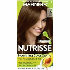 Color Creme for Women Permanent 50 Medium Natural Brown Truffle Pack Topselling