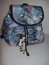 LeSportsac Disney Mickey Minnie Vacation Paradise 9808 Small Edie Backpack