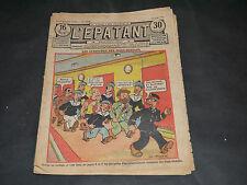 JOURNAL BD L'ÉPATANT N°1455 du 18 JUIN 1936 A. PERRE COUVERTURE PIEDS NICKELES