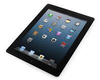 """Apple iPad 4 4th Gen 16GB Wi-Fi, Retina Display 9.7"""" Black A Grade Apple Care"""