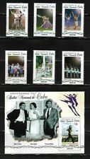 2018 National Ballet Alicia Alonso Caribbean Island Mnh + S/S Set