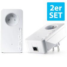Devolo dLan 1200+ Adapter PLC, DUO, Starter Kit, 2 Stück, Powerline, Gigabit LAN