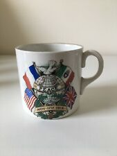 More details for children of cardiff ww1 peace celebrations pottery mug - november 11th 1918