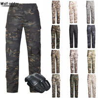 Mens Army Gen3 Combat Pants G3 Military Tactical Cargo Trousers Casual Pant SWAT