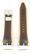 Original Seiko F1 Honda Racing Team 7T82-0AF0 Watch Band SPC009 Black Red Strap