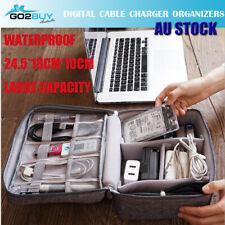 New Travel Waterproof Storage Organizer Bag Case Digital USB Cable Earphone