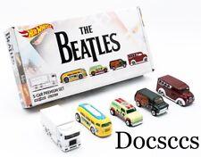 The BEATLES Limited 5-Car Sealed Boxed Set Hot Wheels Mattel Apple Pop Culture