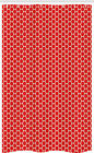 Asbtract Stall Shower Curtain Dotted Hexagons Pattern
