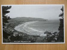 ST CLAIR DUNEDIN NEW ZEALAND REAL PHOTO POSTCARD