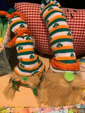 Mr. and Mrs. St Patty's gnomes