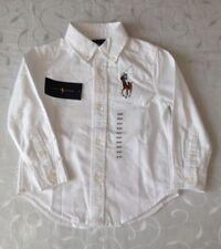 Ralph Lauren  Boy's  Long Sleeve 100% Cotton Oxford Shirt (3Years)