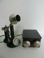 Rare Automatic Electric Stair step Candlestick telephone Mercedes dial Working