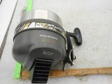 Vintage Zebco Pro Staff 888 Spincasting Fishing Reel Heavy Duty MADE IN USA