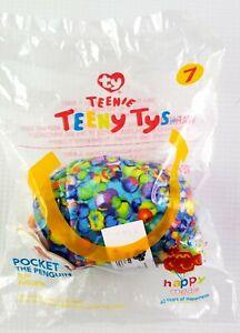 McDONALDS TY TEENY TYs BEANIE BOOS Pocket the Penguin Plush Happy Meal Toy