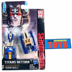 Transformers Generations Titans Return TERRI-BULL Titan Master action figure