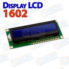 Dispay LCD1602 AZUL 16x2 arduino pantalla LCD 1602 retroiluminado