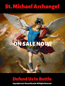 "St. Michael The Archangel Brand New ""Limited Edition"" Poster On Sale Now!"
