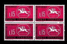 ITALIA REP. - 1961 - 3ª giornata del francobollo - 15 L. - Cavallino sardo Centr