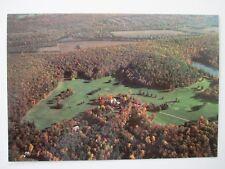 Postcard PA Cliff Park Inn Milford Pennsylvania Aerial View