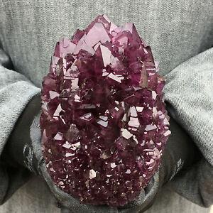 2.4LB+ Rare Purple Alunite Crystal Mineral Specimen Point Reiki Healing