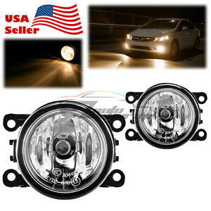 For 07-19 Mitsubishi Outlander Fog Light Clear Lens OEM Quality Replacement F1