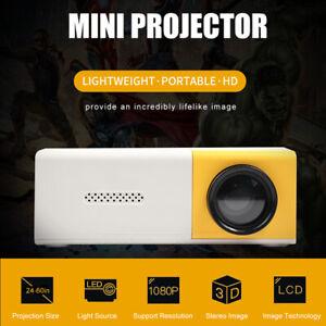 Mini Proiettore Videoproiettore Portatile 1080P con Interfacce di HD USB AV Q0P7