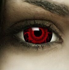 "Mini Sclera Lenses ""Cataclysm"" rote Kontaktlinsen Crazy Farbige Halloween Linsen"