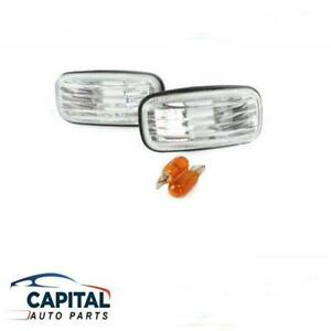 Pair of Performance Clear guard repeater lights for Nissan Pulsar N15/N16 95-06