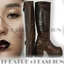 Boots Shoes Leather Vintage Buffalo 80s 90s Iconic Rare Platform Grunge Amazing