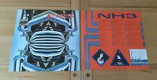 The Alan Parsons Project Ammonia Avenue 1988 Euro DMM LP Inner Arista Prog Rock