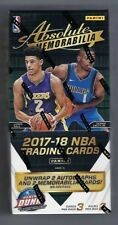 2017-18 Panini Absolute Basketball Factory Sealed Hobby Box