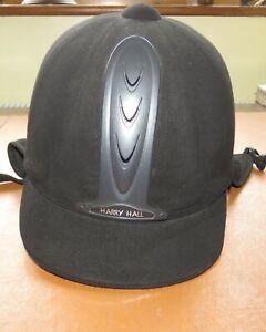 Harry Hall Riding Hat - Black 60cms 7 & 3/4